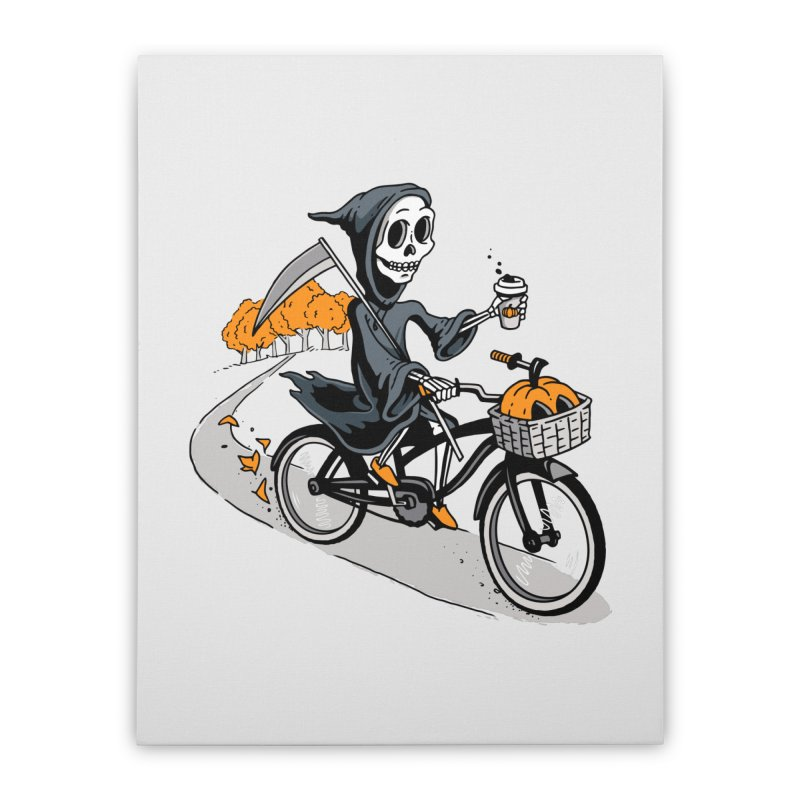 Fall Reaper Home Stretched Canvas by Ben Douglass