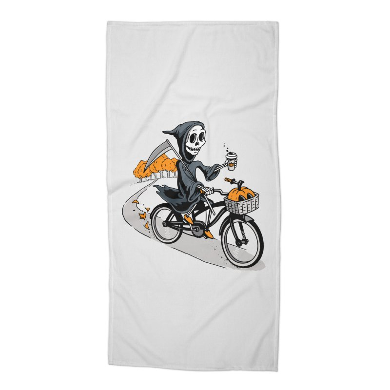 Fall Reaper Accessories Beach Towel by Ben Douglass