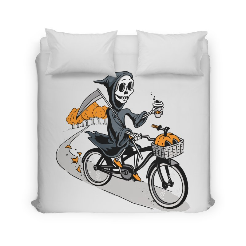Fall Reaper Home Duvet by Ben Douglass