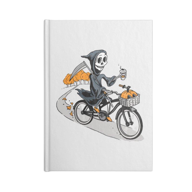 Fall Reaper Accessories Lined Journal Notebook by Ben Douglass