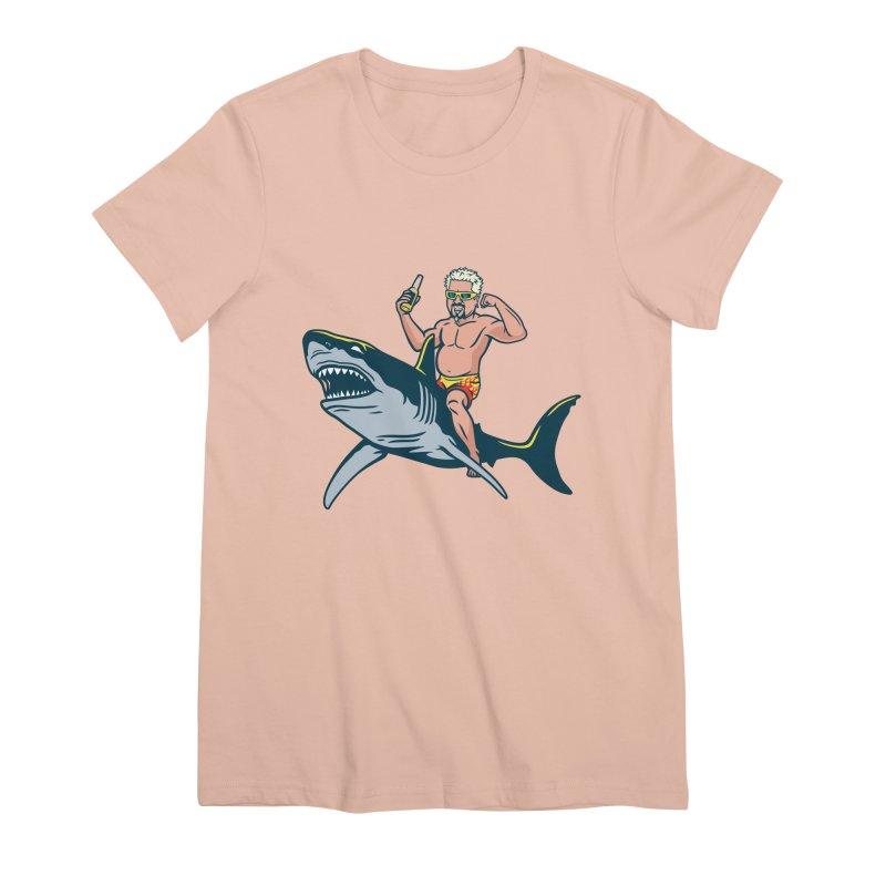 Flavor Attack Women's Premium T-Shirt by Ben Douglass
