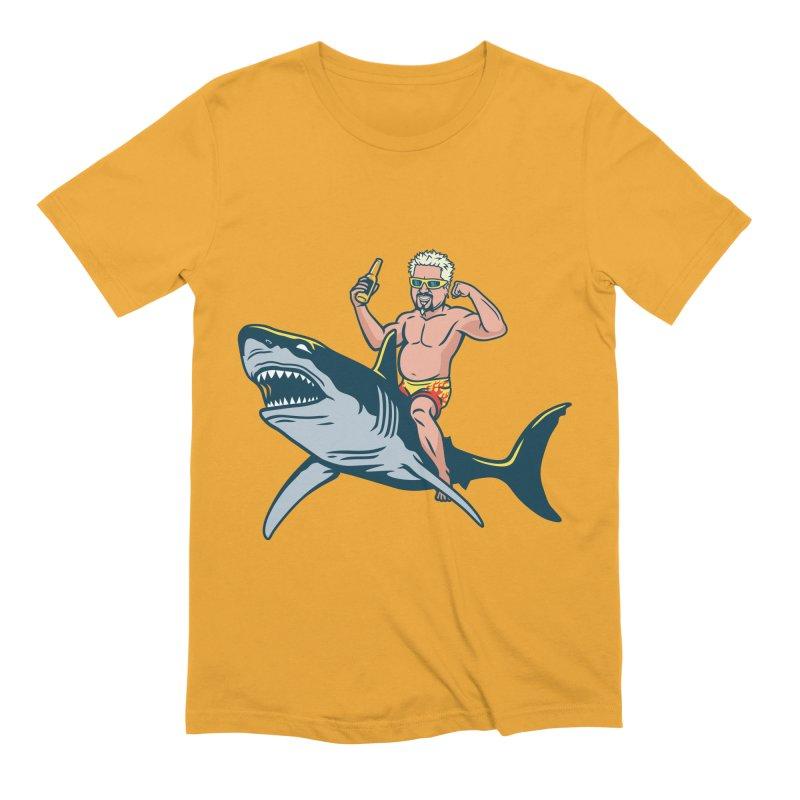Flavor Attack Men's Extra Soft T-Shirt by Ben Douglass