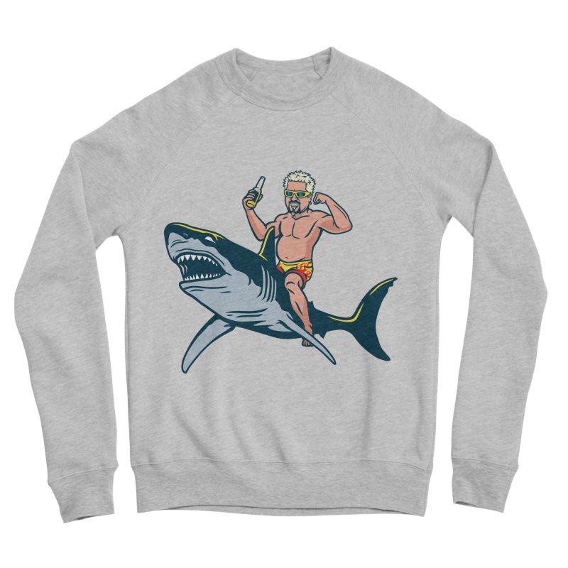 Flavor Attack Women's Sponge Fleece Sweatshirt by Ben Douglass