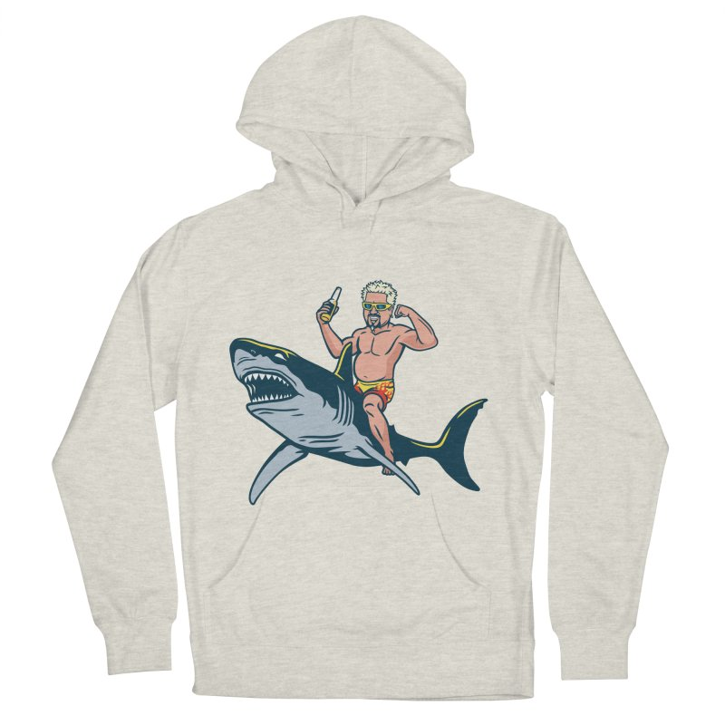 Flavor Attack Men's French Terry Pullover Hoody by Ben Douglass