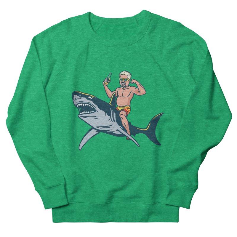 Flavor Attack Men's French Terry Sweatshirt by Ben Douglass