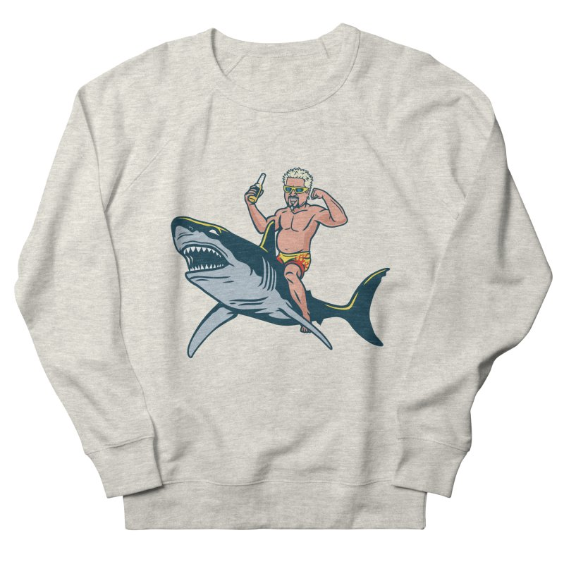 Flavor Attack Men's French Terry Sweatshirt by Ben Douglass