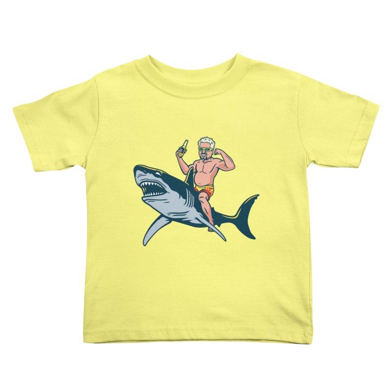 Flavor Attack Kids Toddler T-Shirt by Ben Douglass