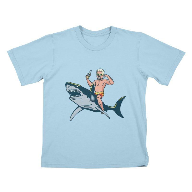 Flavor Attack Kids T-Shirt by Ben Douglass