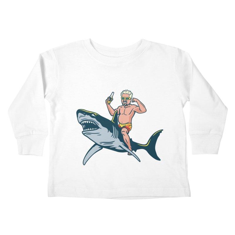 Flavor Attack Kids Toddler Longsleeve T-Shirt by Ben Douglass
