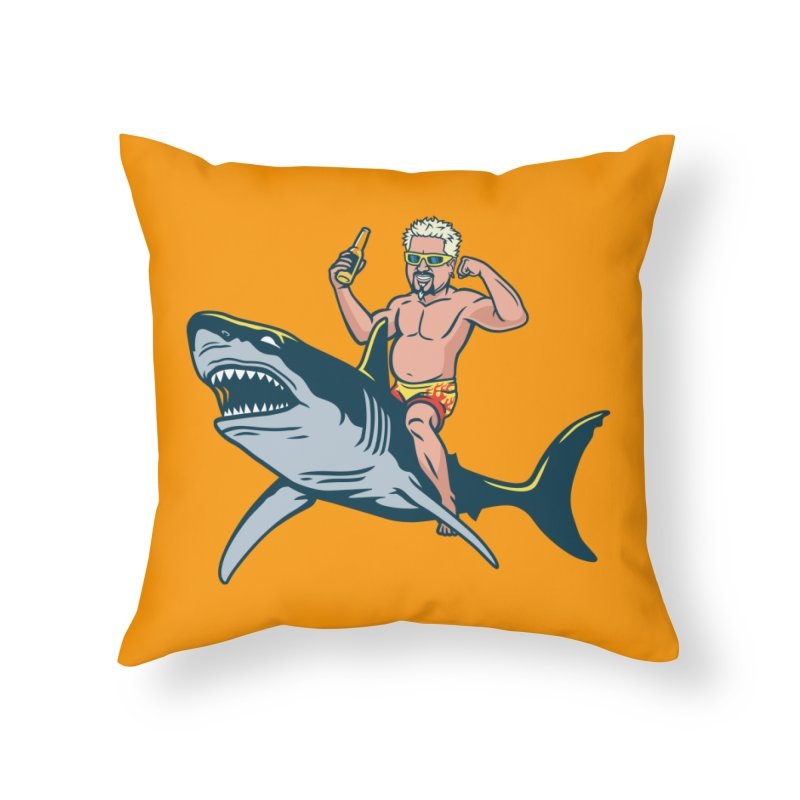Flavor Attack Home Throw Pillow by Ben Douglass