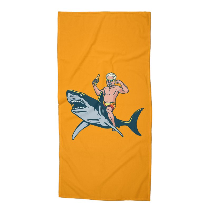 Flavor Attack Accessories Beach Towel by Ben Douglass