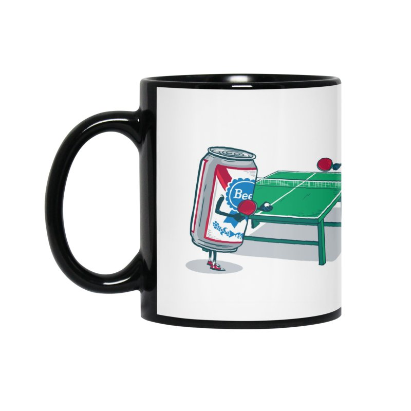 Beer Pong Accessories Mug by Ben Douglass