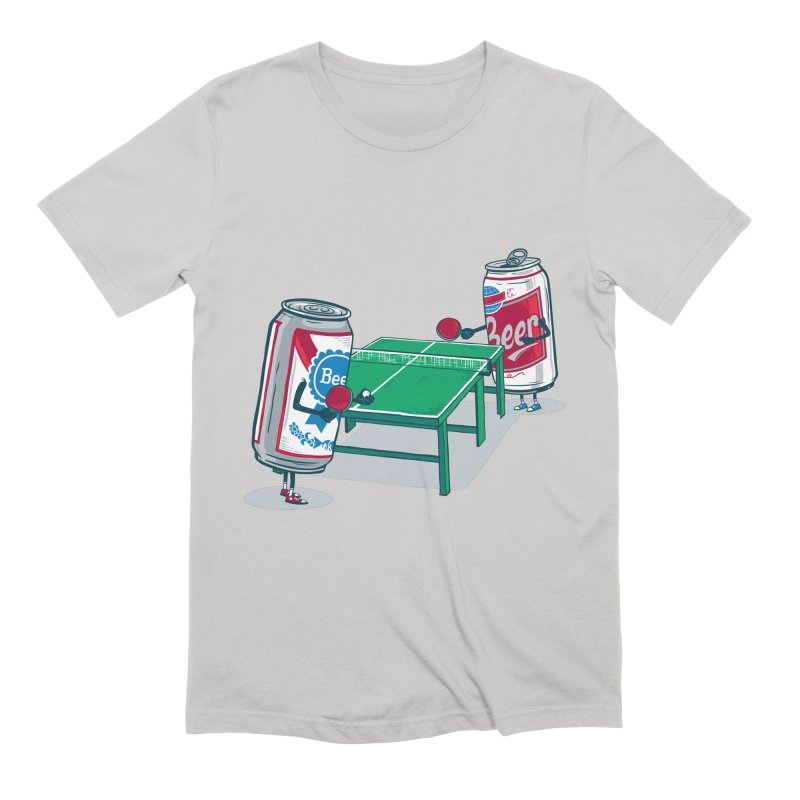 Beer Pong Men's T-Shirt by Ben Douglass