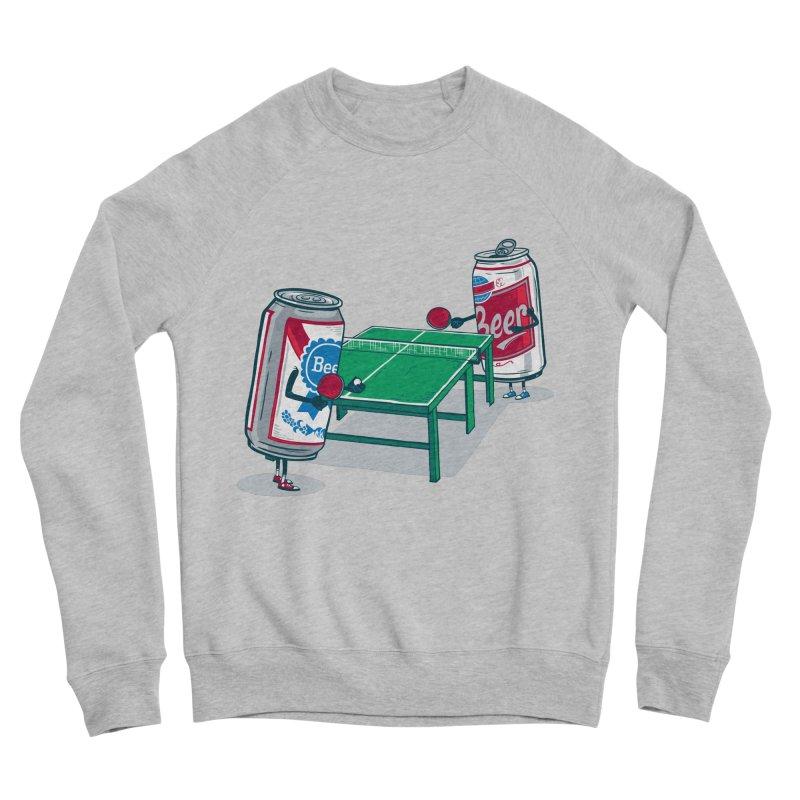 Beer Pong Women's Sponge Fleece Sweatshirt by Ben Douglass