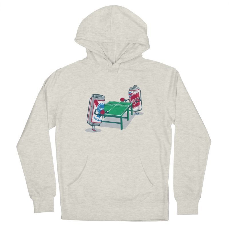 Beer Pong Women's Pullover Hoody by Ben Douglass