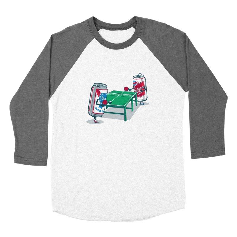 Beer Pong Women's Longsleeve T-Shirt by Ben Douglass