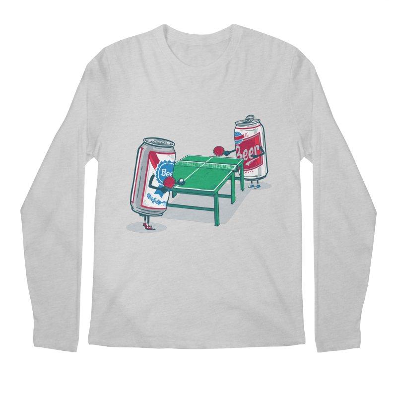 Beer Pong Men's Regular Longsleeve T-Shirt by Ben Douglass
