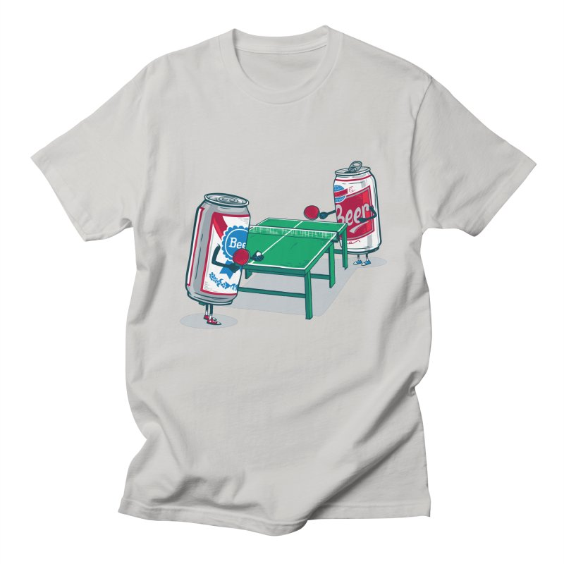 Beer Pong Men's T-Shirt by Ben Douglass