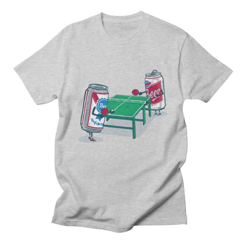 Beer Pong Men's Regular T-Shirt by Ben Douglass