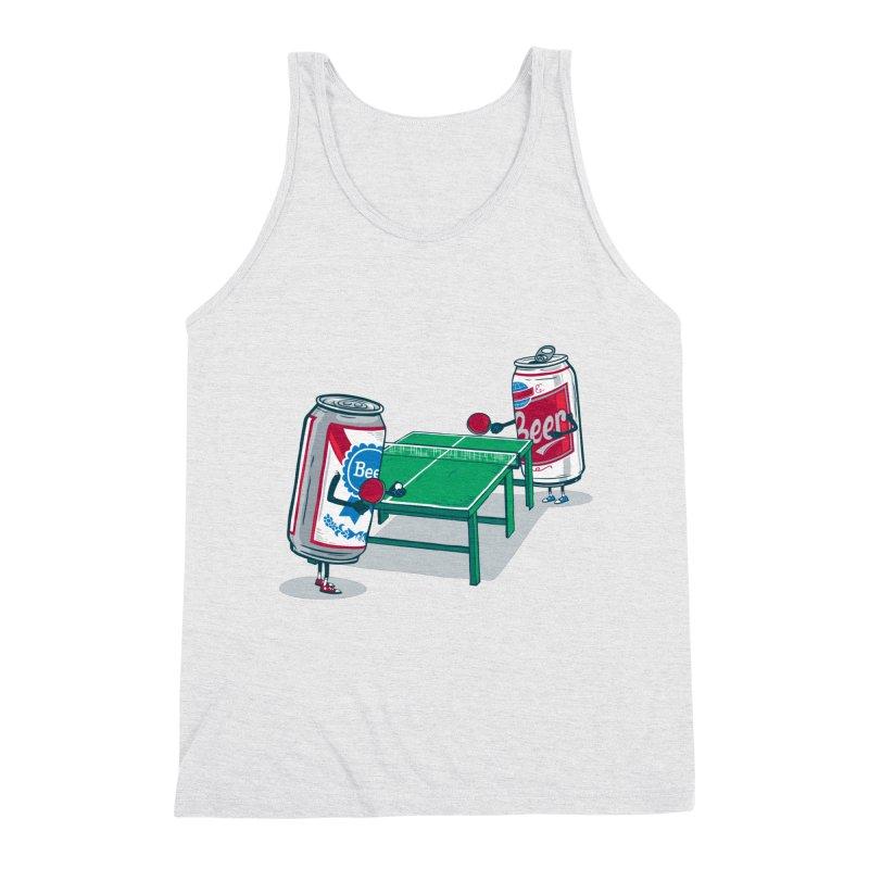 Beer Pong Men's Tank by Ben Douglass