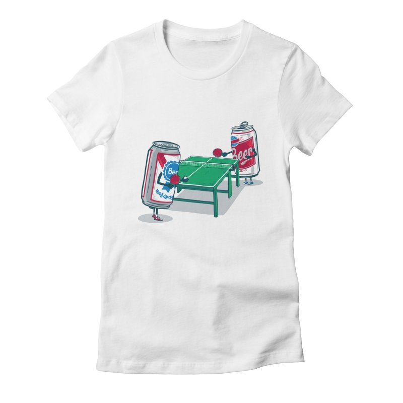 Beer Pong Women's T-Shirt by Ben Douglass