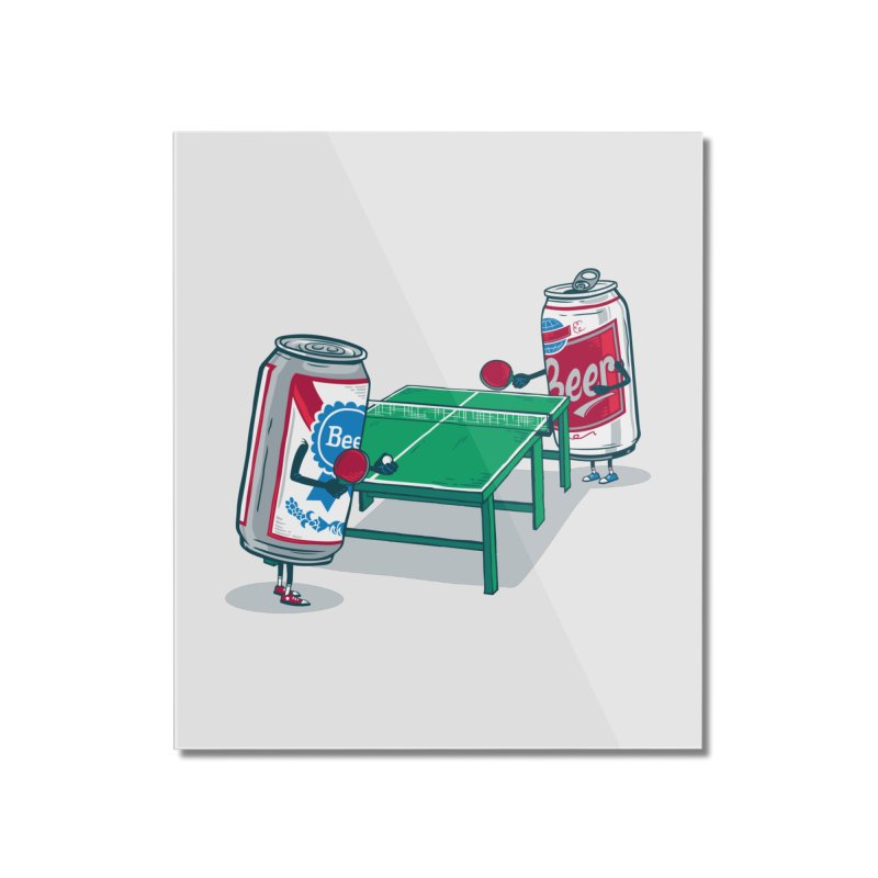 Beer Pong Home Mounted Acrylic Print by Ben Douglass