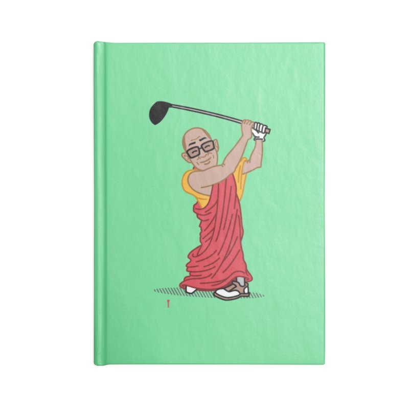 Big Hitter Accessories Blank Journal Notebook by Ben Douglass