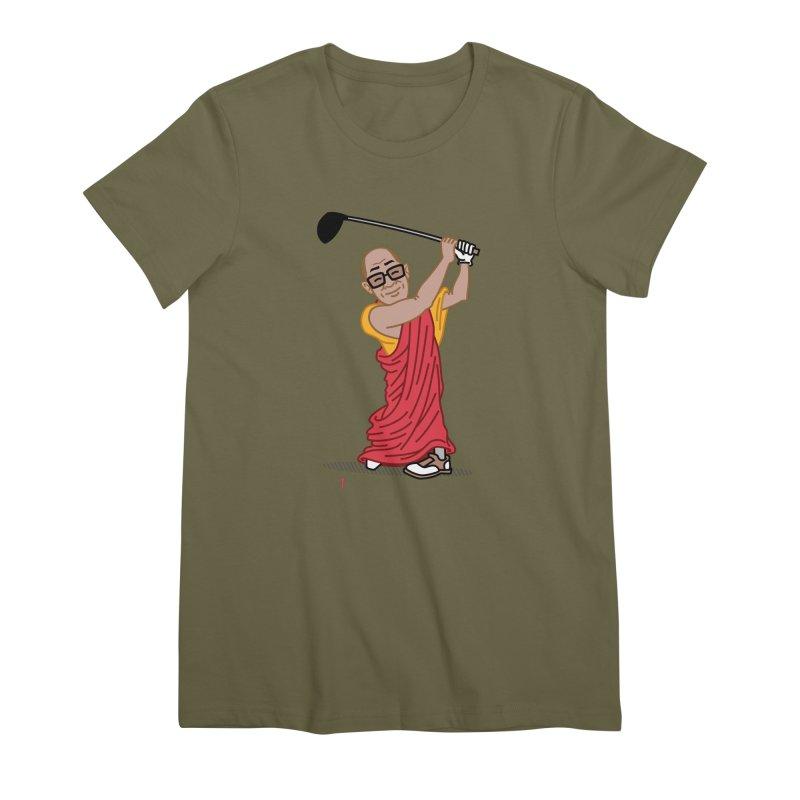 Big Hitter Women's Premium T-Shirt by Ben Douglass
