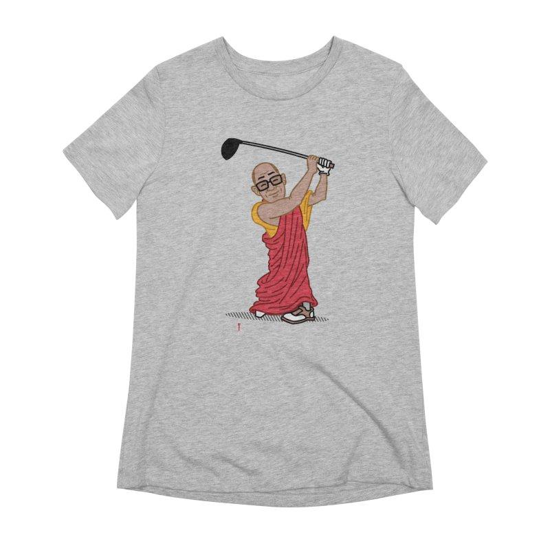 Big Hitter Women's Extra Soft T-Shirt by Ben Douglass