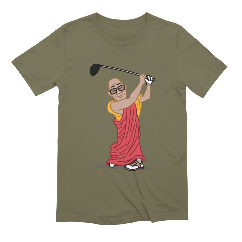 Big Hitter Men's Extra Soft T-Shirt by Ben Douglass
