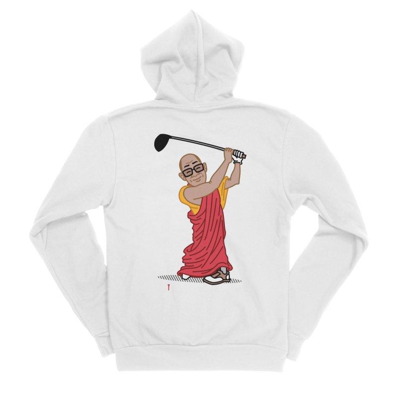 Big Hitter Women's Zip-Up Hoody by Ben Douglass