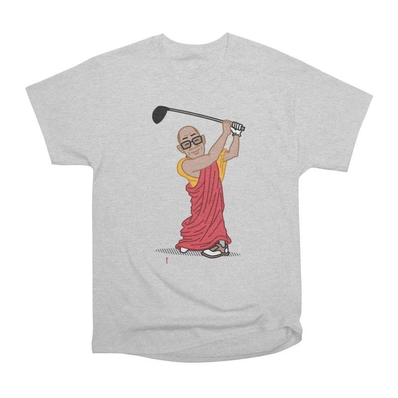Big Hitter Women's Heavyweight Unisex T-Shirt by Ben Douglass