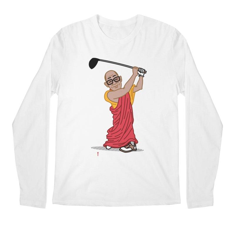 Big Hitter Men's Regular Longsleeve T-Shirt by Ben Douglass