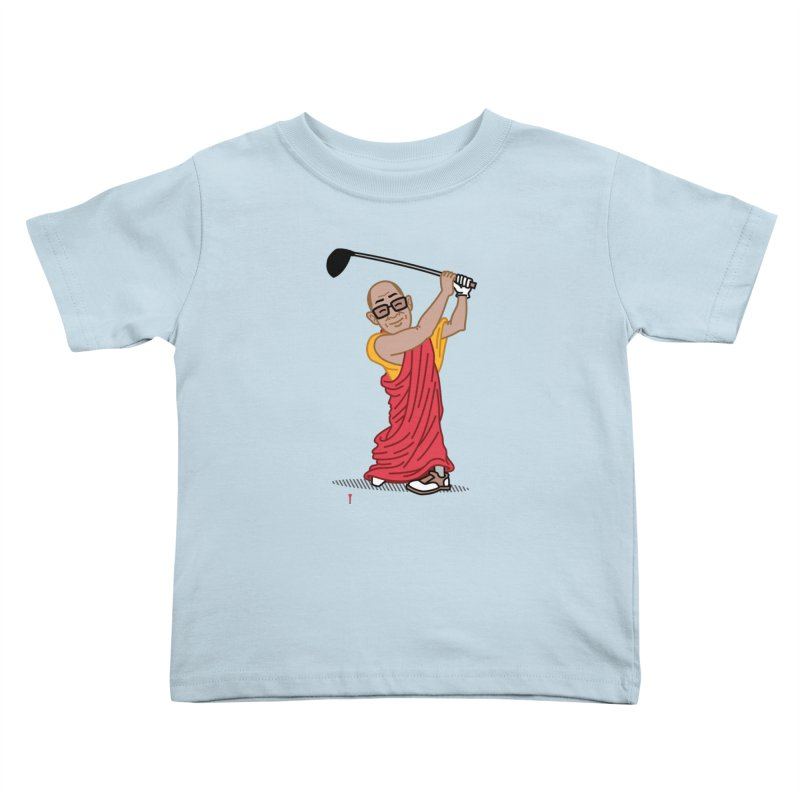 Big Hitter Kids Toddler T-Shirt by Ben Douglass