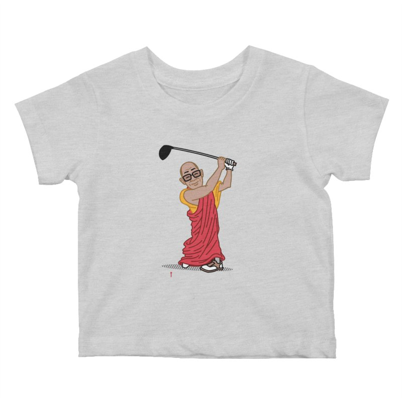 Big Hitter Kids Baby T-Shirt by Ben Douglass