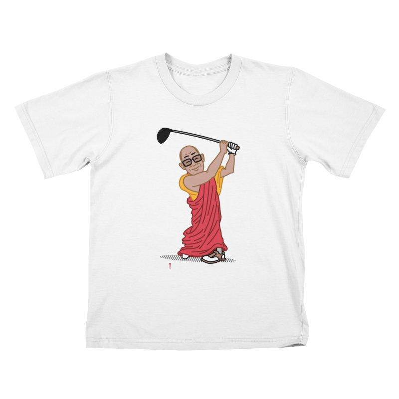 Big Hitter Kids T-Shirt by Ben Douglass