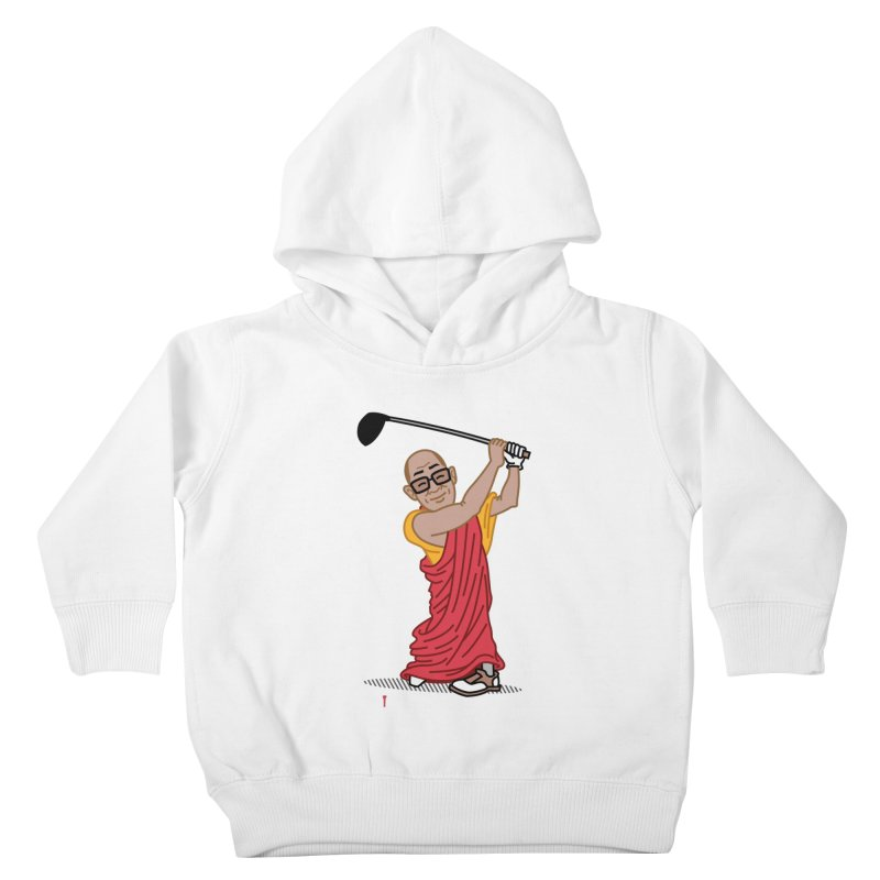 Big Hitter Kids Toddler Pullover Hoody by Ben Douglass