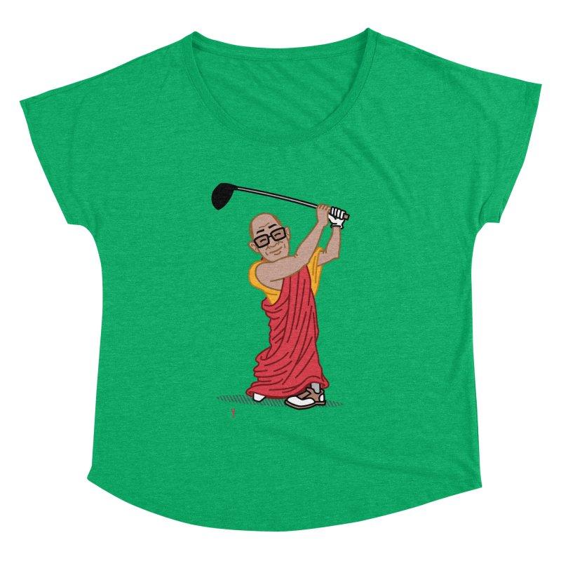 Big Hitter Women's Dolman Scoop Neck by Ben Douglass