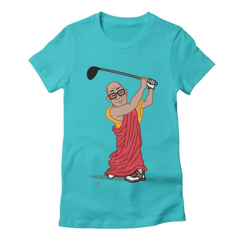 Big Hitter Women's Fitted T-Shirt by Ben Douglass