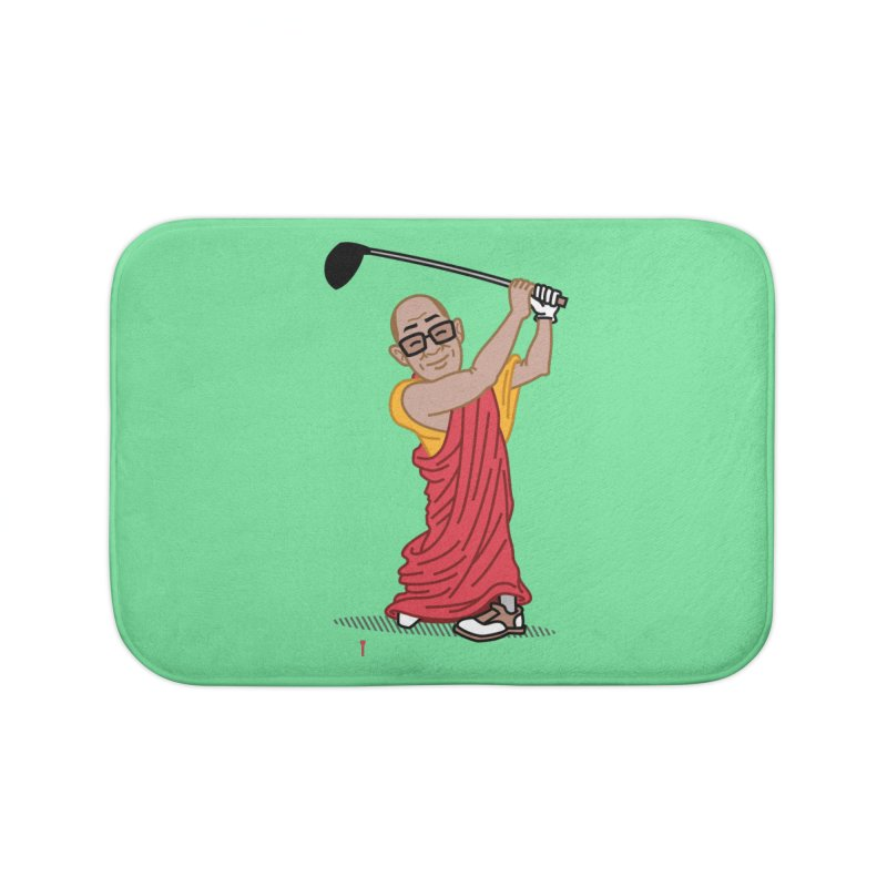Big Hitter Home Bath Mat by Ben Douglass