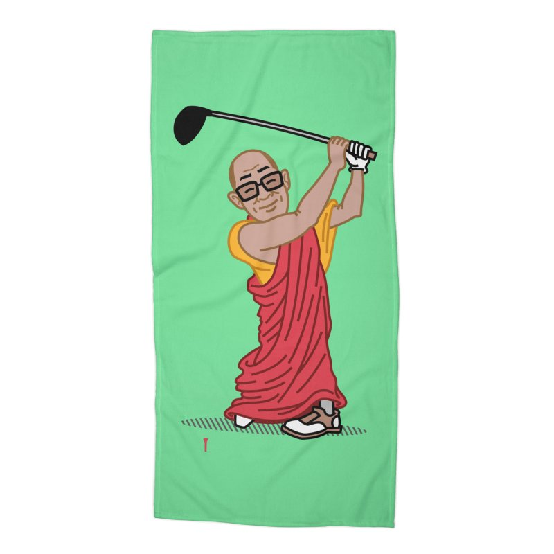 Big Hitter Accessories Beach Towel by Ben Douglass