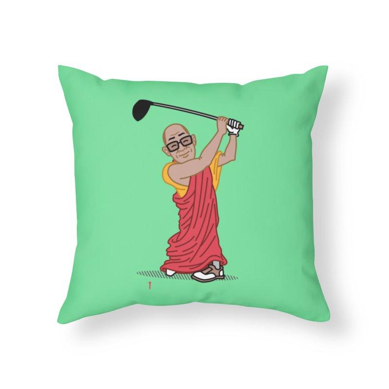 Big Hitter Home Throw Pillow by Ben Douglass