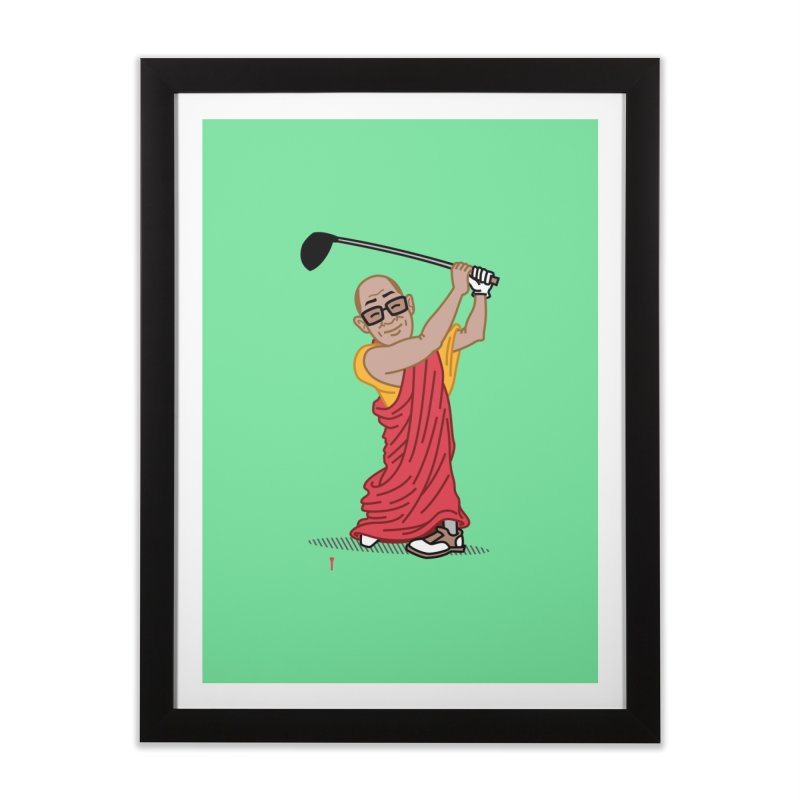 Big Hitter Home Framed Fine Art Print by Ben Douglass