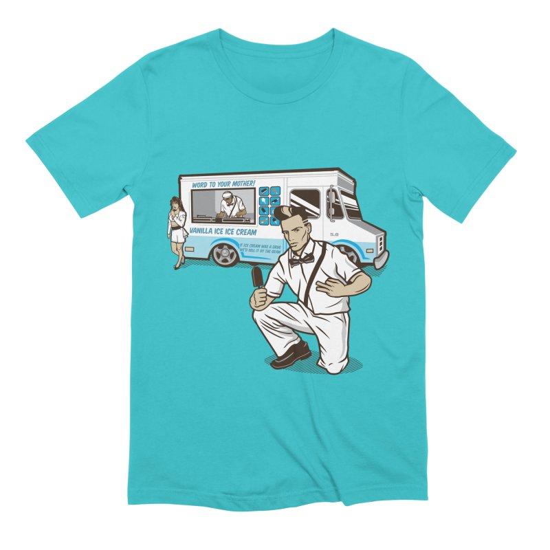 Vanilla Ice Cream Man Men's Extra Soft T-Shirt by Ben Douglass