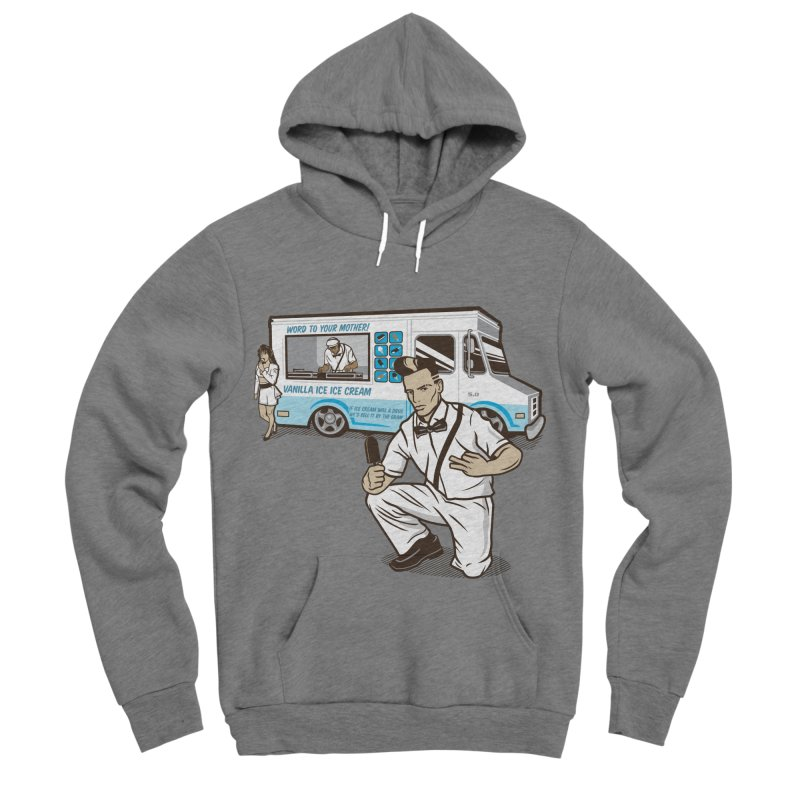 Vanilla Ice Cream Man Women's Sponge Fleece Pullover Hoody by Ben Douglass
