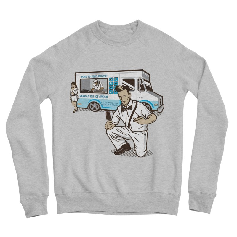 Vanilla Ice Cream Man Men's Sponge Fleece Sweatshirt by Ben Douglass