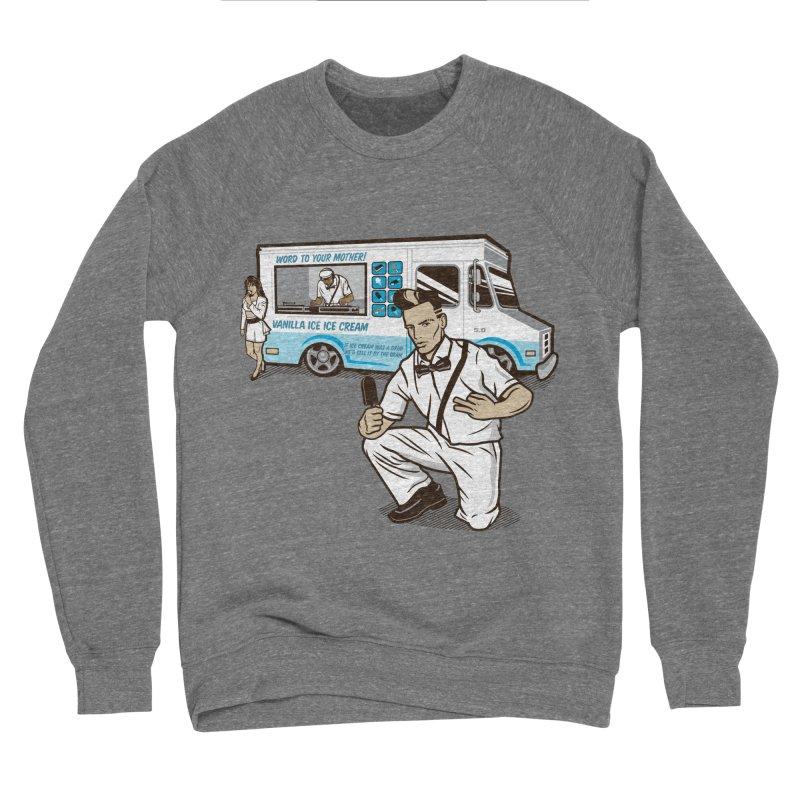 Vanilla Ice Cream Man Women's Sponge Fleece Sweatshirt by Ben Douglass