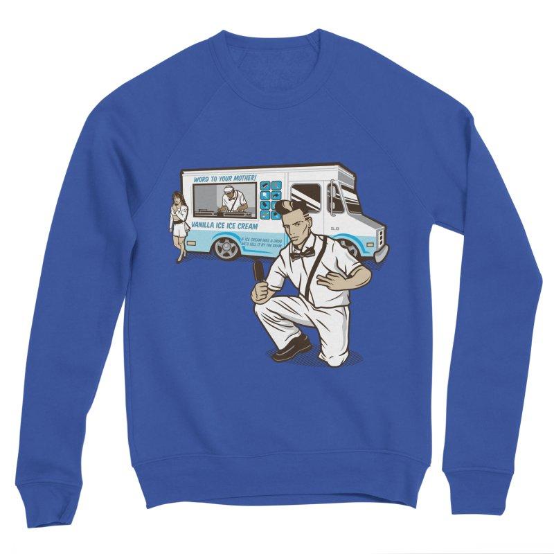 Vanilla Ice Cream Man Men's Sponge Fleece Sweatshirt by Ben Douglass