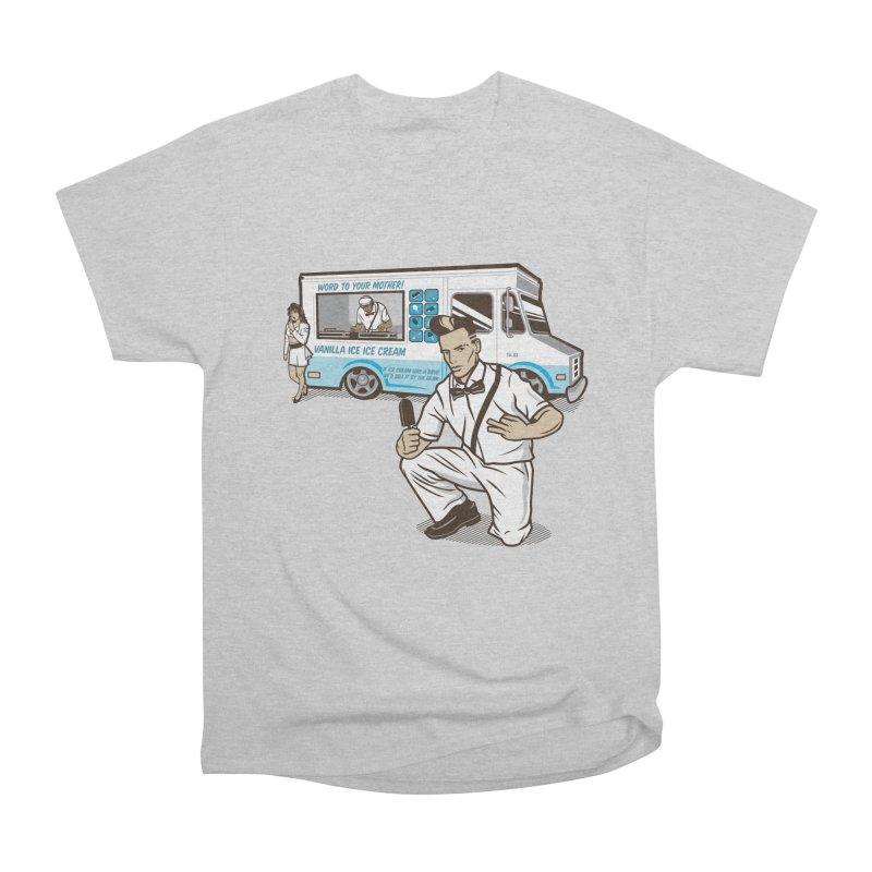 Vanilla Ice Cream Man Men's Heavyweight T-Shirt by Ben Douglass