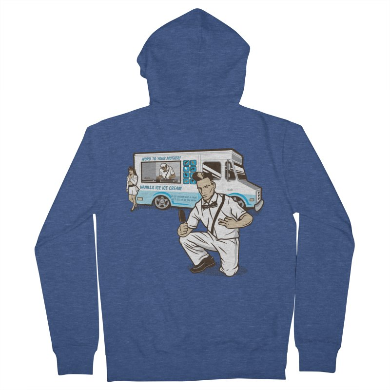 Vanilla Ice Cream Man Men's Zip-Up Hoody by Ben Douglass